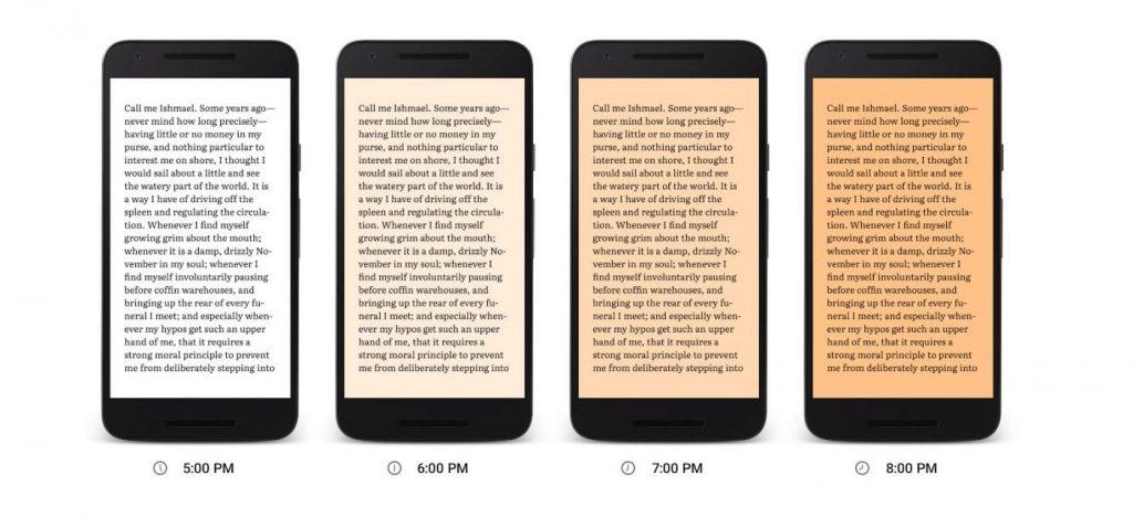 Modo noche Android