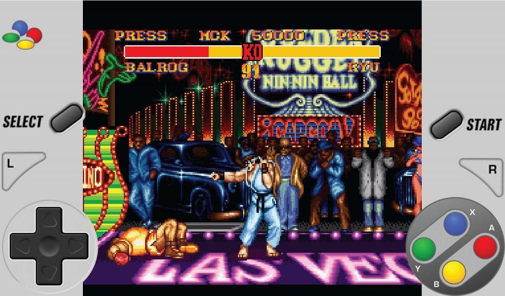 Street Fighter en SuperRetro16