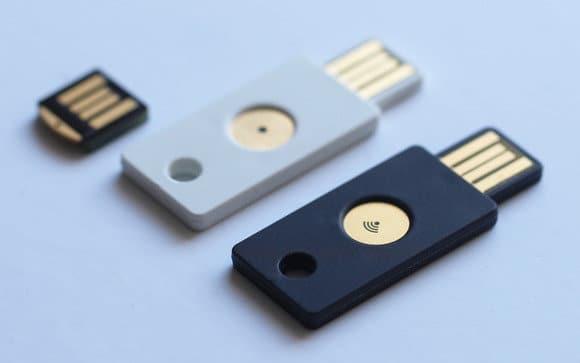 USB clave autentificación