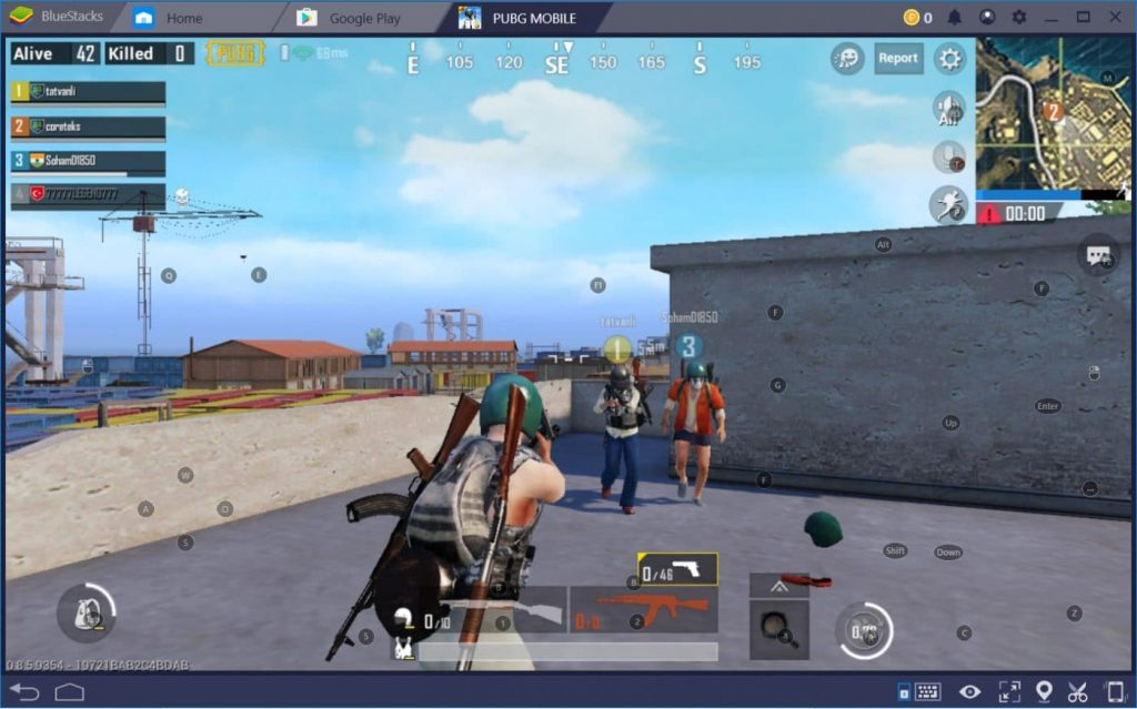 PUBG en Bluestacks