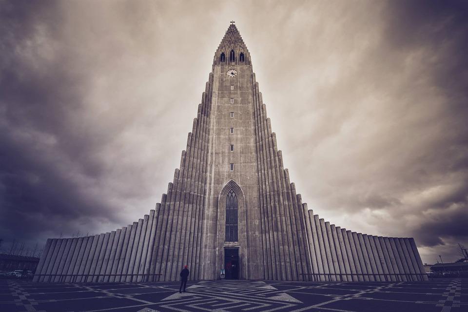 Catedral de Hallgrímskirkja. Islandia