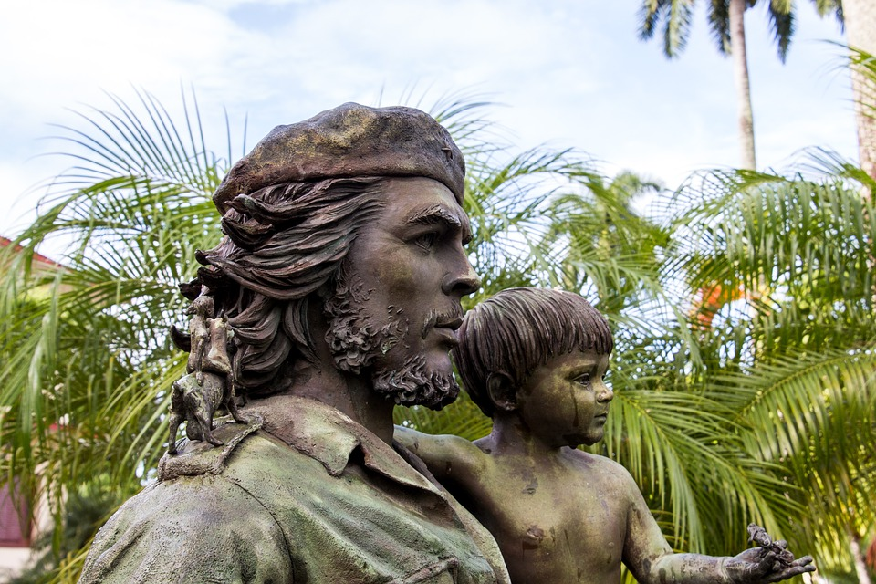 Estatua Che Guevara