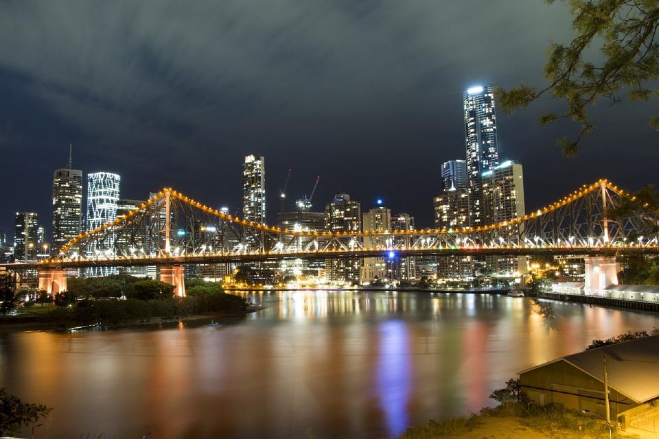 Puente de la historia. Brisbane