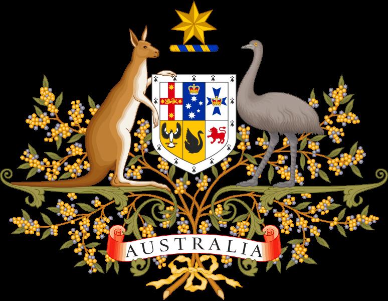 Escudo de armas australiano