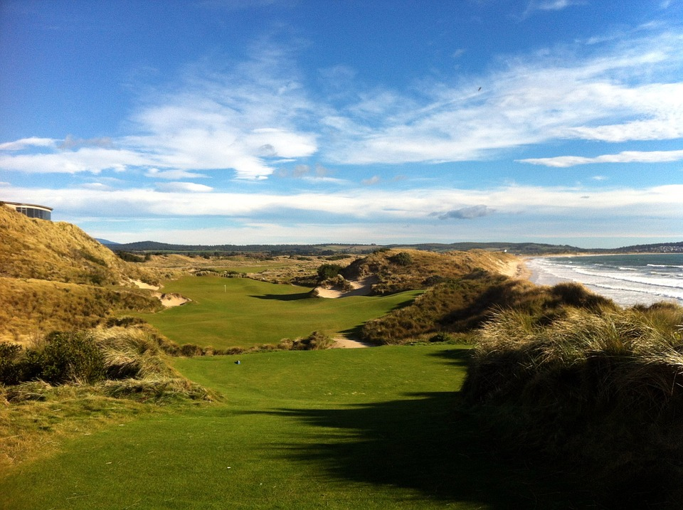 Campo de golf. Australia