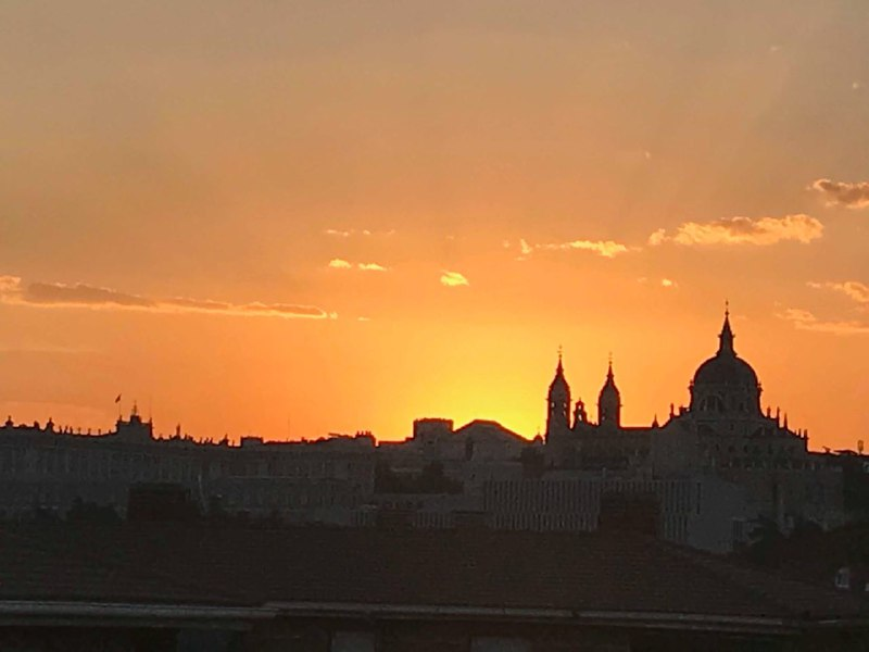 Amanecer Madrid