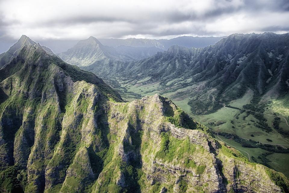 Montañas Hawaii