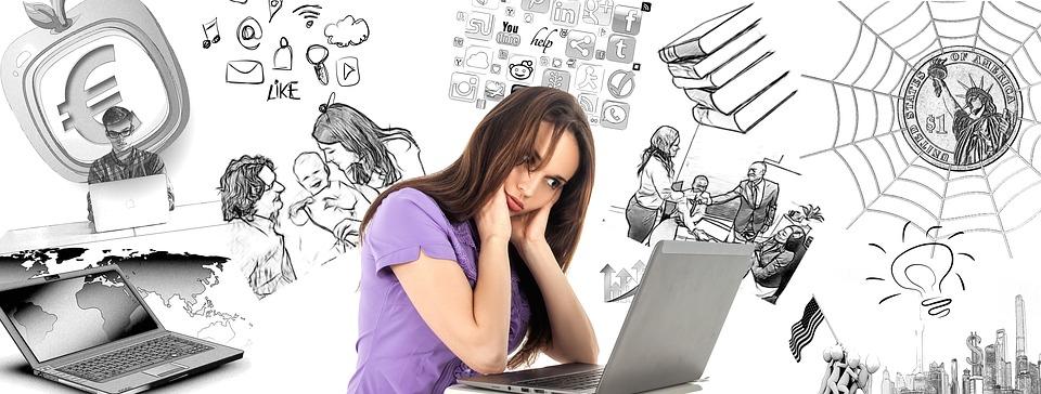 Imagen que representa el estrés del día a día