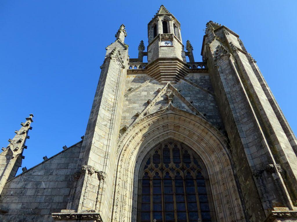 Campanario iglesia Guérande. Países del Loira