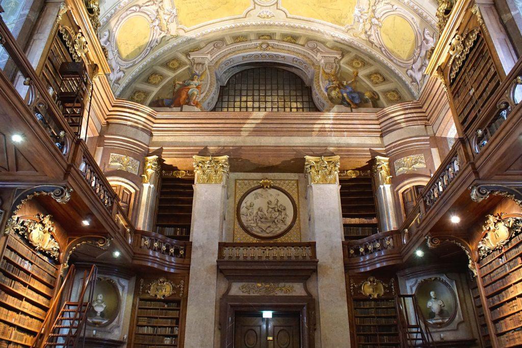 Sala Ceremonial. Biblioteca Nacional de Viena