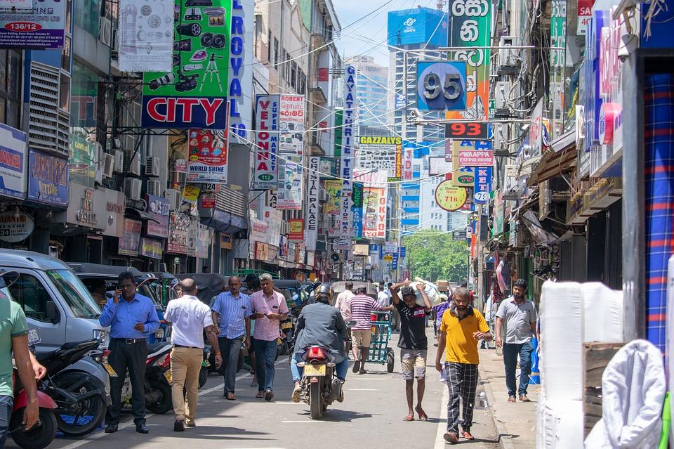 Calle en Colombo