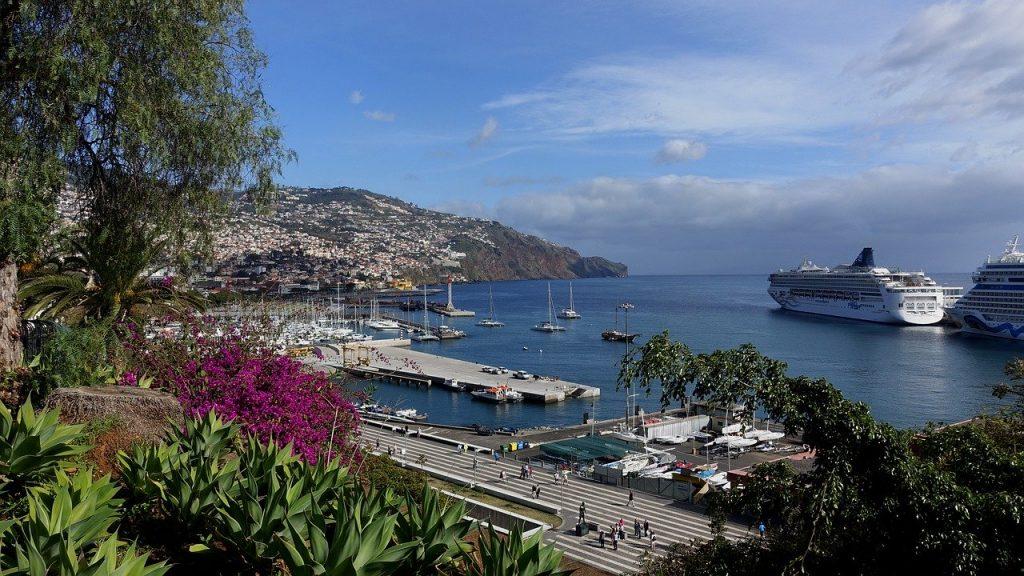 Puerto de Funchal. Maderia